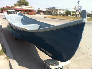Barca din fibra Lotca tip Constanta de 18 k pentru pescuit - Pret: 8.000 lei