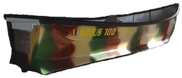 barca din fibra lotus 700
