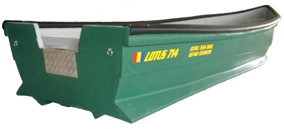 Barca din fibra lotus 714