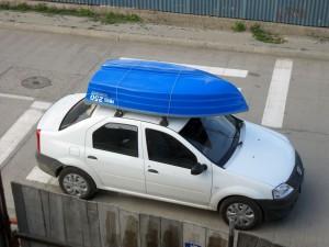 Barca de pus pe masina