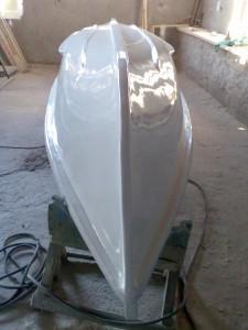 Barca din fibra pentru salvamari de 6 persoane